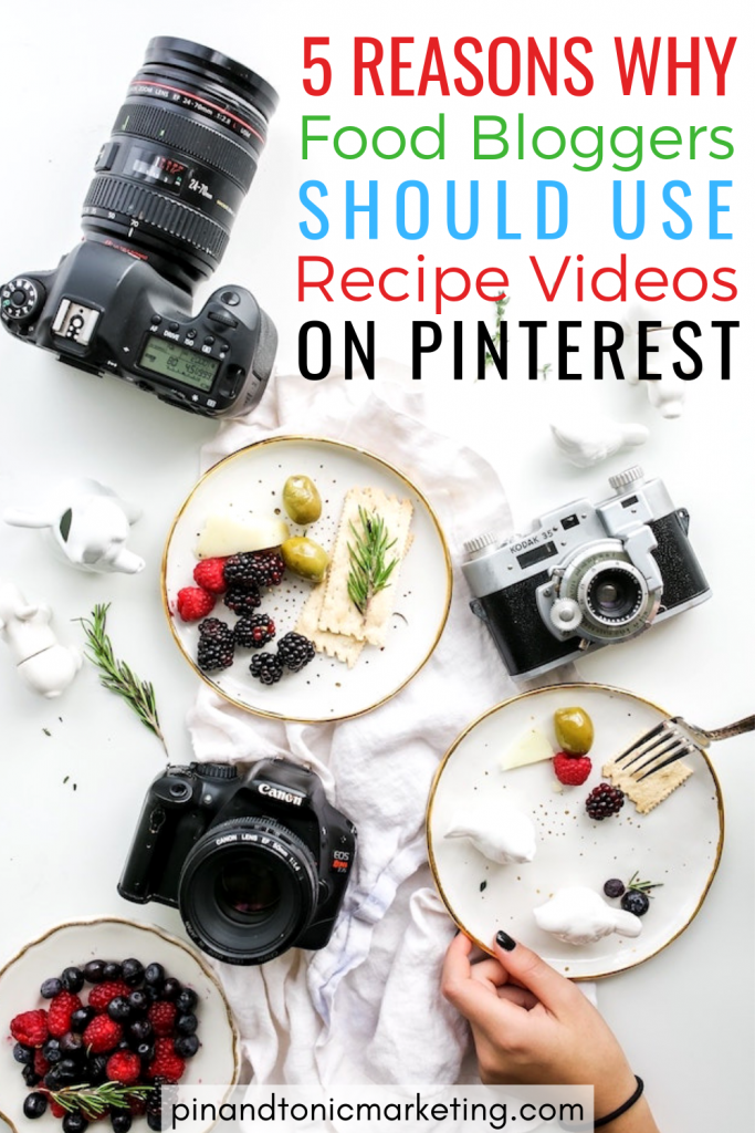 If you're a food blogger already creating recipe videos for social media, it might be time to repurpose them for Pinterest marketing. Find out why it's worth your time and how to upload video to Pinterest #pinterestmarketing #foodblogger #pinterest #recipevideos