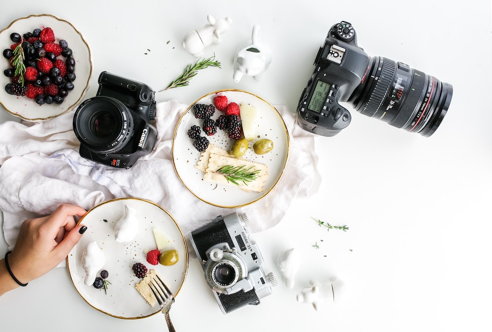 Food photography by Brooke Lark via Unsplash